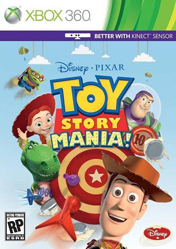 Toy Story Mania! (Xbox 360) (Kinect)