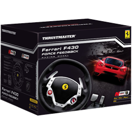 Thrustmaster Ferrari F430 Force Feedback Racing Wheel (PC / PS3)