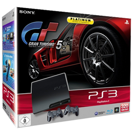 Sony PlayStation 3 (PS3 Slim) 320 Gb + 2 Джойстика + Gran Turismo 5 (прошивка 3.66)