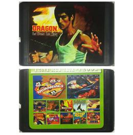 Картриджи для 16 bit консолей (Sega)
