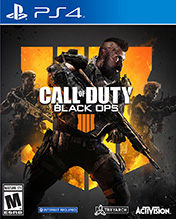 Покупка Call of Duty: Black Ops 4 для PS4 в Одессе