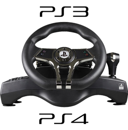 Купить руль Playstation Hurricane Steering Wheel для PS3 и PS4 в Украине