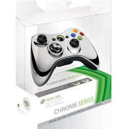 Xbox 360 Wireless Controller Chrome Silver / Беспроводной геймпад (Оригинальный)