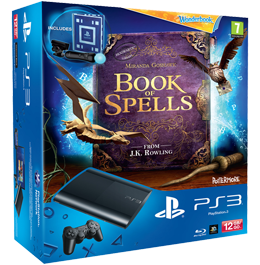 Sony PlayStation 3 (PS3 Super Slim) 12 Gb + Move Starter Pack + Книга Заклинаний (Book of Spells)