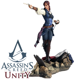 Купить Фигурку Assassin's Creed: Unity - ELISE The Fiery Templar в Одессе