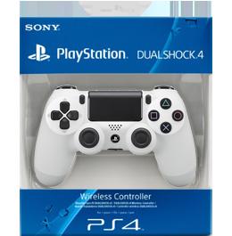 Купить Dualshock 4 Glacier White / Белый для PS4 в Одессе