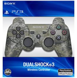 Купить беспроводной камуфляжный геймпад DualShock 3 для PS3 в Украине