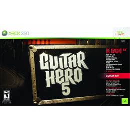 Guitar Hero 5 Guitar Bundle (Xbox 360)