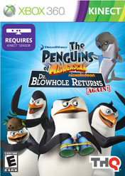 The Penguins Of Madagascar: Dr. Blowhole Returns Again (Xbox 360) (Kinect)