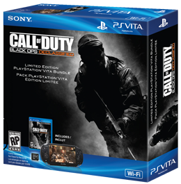 PS Vita Wi-Fi + Call of Duty Black Ops Declassified + 4GB Memory Card