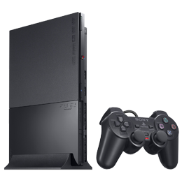 Sony PlayStation 2 Black / Черная (PS2 Slim)
