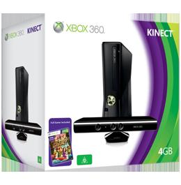 Microsoft Xbox 360 Slim 4Gb (LT +3.0) + Kinect
