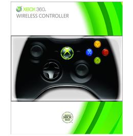 Купить Черный беспроводной геймпад для Xbox 360 в Украине