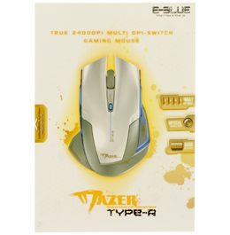Игровая мышь E-Blue Cobra Mazer Type-R White