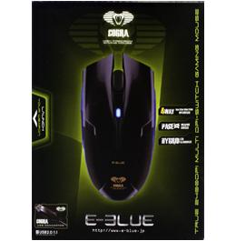 Игровая мышь E-BLUE Cobra White