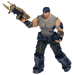 Фигурка Gears of War 3: Journeys End Marcus Fenix