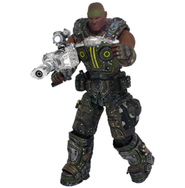 Фигурка Gears of War 3: Augustus Cole