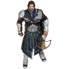 Фигурка Assassins Creed Brotherhood: Ezio Onyx Costume Unhooded
