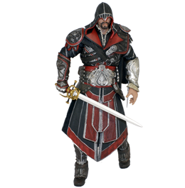 Фигурка Assassins Creed Brotherhood: Ezio Auditore da Firenze Ebony