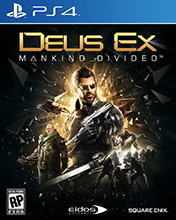 Купить Deus Ex: Mankind Divided для PS4 в Одессе
