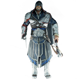 Фигурка Assassins Creed Brotherhood: Ezio Onyx Costume Hooded Figure