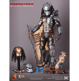 HOT TOYS Predators: Classic Predator 1/6th Scale Collectible Figure / Фигурка Хищника из фильма «Хищники»
