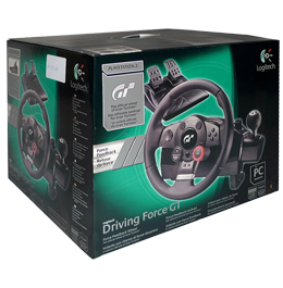 Logitech Driving Force GT Gaming Wheel (PS2 / PS3 / PC)