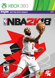 Купить NBA 2K18 для Xbox 360 в Одессе
