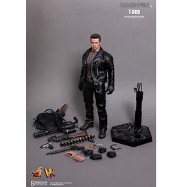 HOT TOYS Terminator 2: Judgment Day T-800 DX10 1/6th Scale Collectible Figure / Фигурка Терминатора из фильма «Терминатор 2»