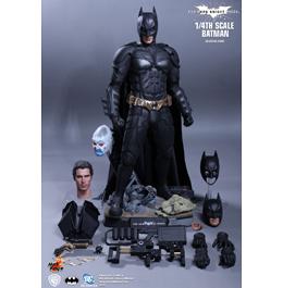 HOT TOYS The Dark Knight Rises: 1/4th Scale Batman Collectible Figure / Фигурка Бэтмена из фильма «Темный Рыцарь: Возрождение»