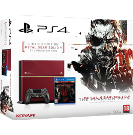 Купить PS4 500Gb Metal Gear Solid V: The Phantom Pain Limited Edition в Украине