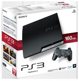 Купить Sony PlayStation 3 (PS3 Slim) 160 Gb + 10 Игр в Одессе