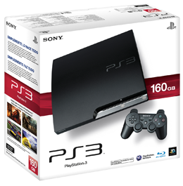 Sony PlayStation 3 (PS3 Slim) 160 Gb (прошивка 3.66)