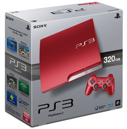 Sony PlayStation 3 Scarlet Red (PS3 Slim) 320 Gb
