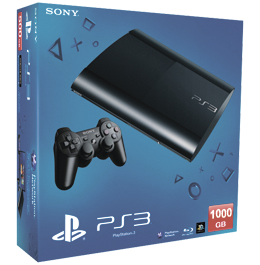 Sony PlayStation 3 (PS3 Super Slim) 1000 Gb
