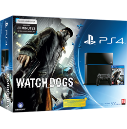 Купить PS4 500 Gb с игрой Watch Dogs в Одессе