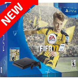 Купить PS4 Slim на 1Tb + FIFA 17 в Одессе