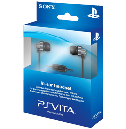 PS Vita In-Ear Headset / Проводная гарнитура (PS Vita)