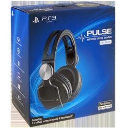 PS3 Pulse Wireless Stereo Headset / Беспроводные наушники (PS3)