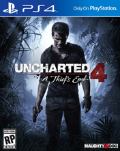 Купить Uncharted 4: A Thief's End для PS4 в Украине