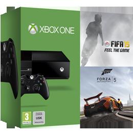 Microsoft Xbox One 500Gb + FIFA 15 + Forza 5