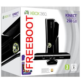 Купить Xbox 360 Slim 250Gb Фрибут с Kinect в Одессе
