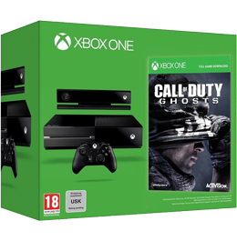 Microsoft Xbox One 500Gb + KINECT 2 + Call of Duty: Ghosts
